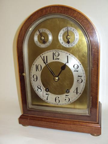 A German mantel clock