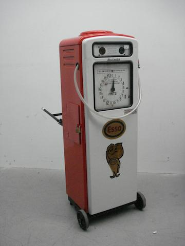 A Beckmeter Multimix two-stroke forecourt pump, 1950s,