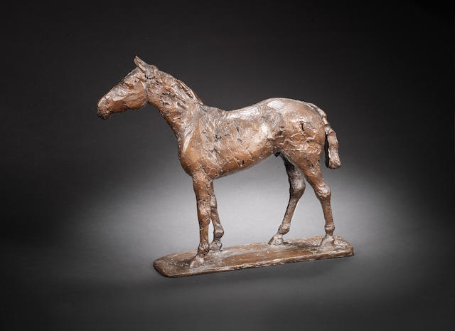 Dame Elisabeth Frink R.A. (British, 1930-1993) Mecca-Dante trophy 30.5 cm. (12 in.) high (including base)