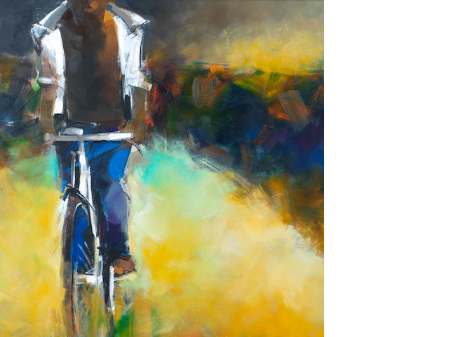 David Kigozi (Ugandan, born 1975) Boy on bicycle