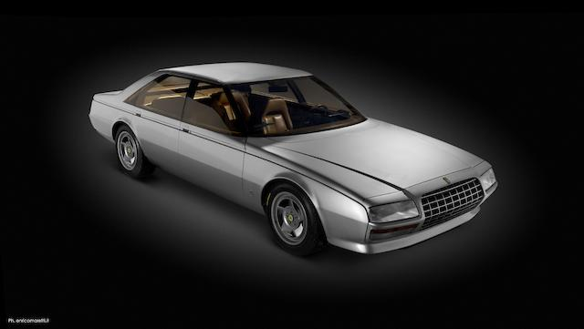 The Turin Motor Show, ex-Jacques Swaters Collection,1980 Ferrari  Pinin Sports Saloon  Chassis no. 1.02.200