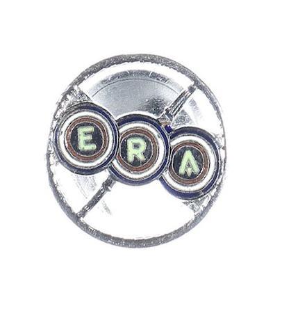 A rare ERA enamel lapel badge, 1938/39,