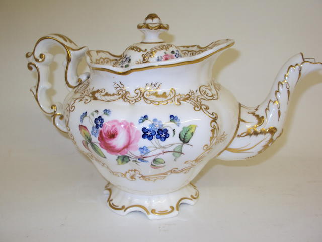 Copeland & Garrett part tea service