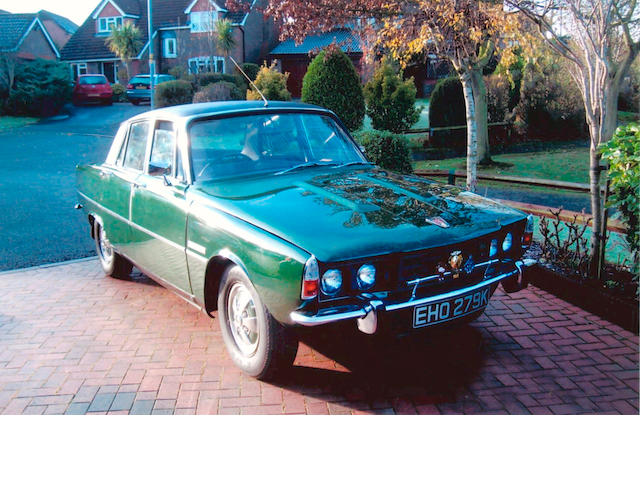 Property of a deceased's estate,1972 Rover 3500S Sports Saloon  Chassis no. 48100838A Engine no. 48100985