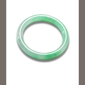 A jadeite bangle