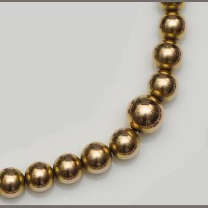 A graduated bead necklace
