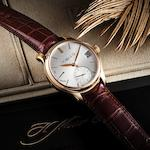 H. Moser & Cie. A very fine and very rare 18ct rose gold perpetual calendar manual wind wristwatch Moser Perpetual 1, Ref:341.501-004, No.200, Case No.100309, Recent