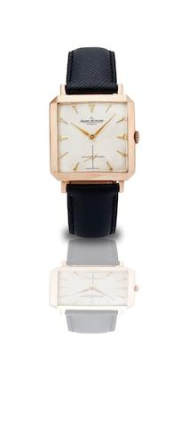 Jaeger-LeCoultre. A fine 18ct rose gold bumper automatic wristwatchCase No.138284, Movement No.1261937, Circa 1940s