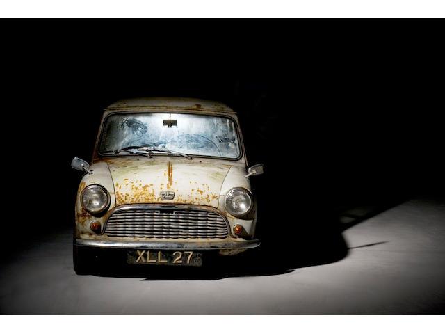 1959 Austin Mini Se7en De Luxe Saloon  Chassis no. AA2S7/108 Engine no. 8AUH-908