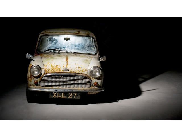 1959 Austin Mini Se7en De Luxe Saloon  Chassis no. AA2S7/108 Engine no. 8AUH-908