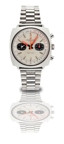 Breitling. A stainless steel chronograph manual wind bracelet watch Top Time, Case No.2211 1269343, Circa 1970
