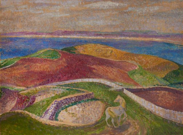 Rudolf Helmut Sauter (British, 1895-1977) Landscape