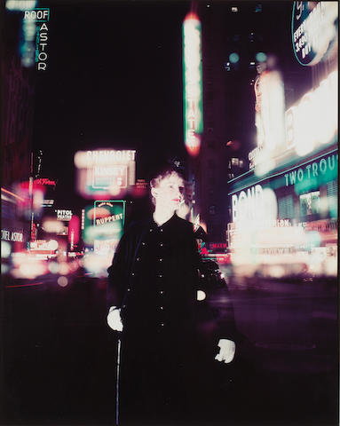Norman Parkinson, Wenda in Times Square