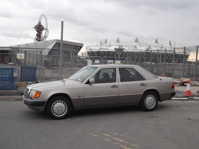 One owner from new,c.1991 Mercedes-Benz 300E Saloon  Chassis no. WDB1240302B385821 Engine no. 10398322229618