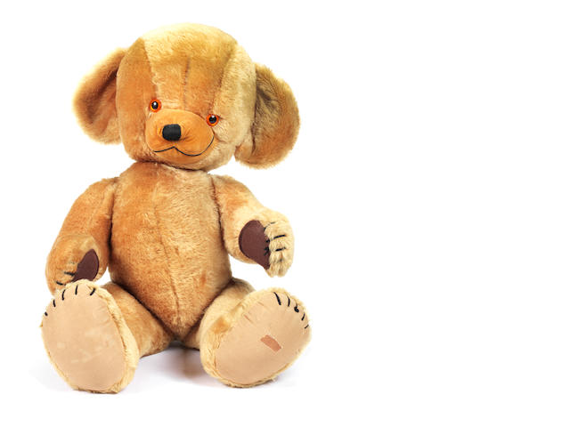 Large Merrythought 'Cheeky' bear, 1960's 3