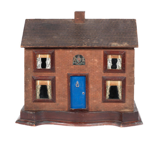 Small red brick cottage, English, late Victorian 2