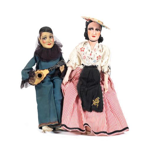 Musical composition boudoir Pierrot  3