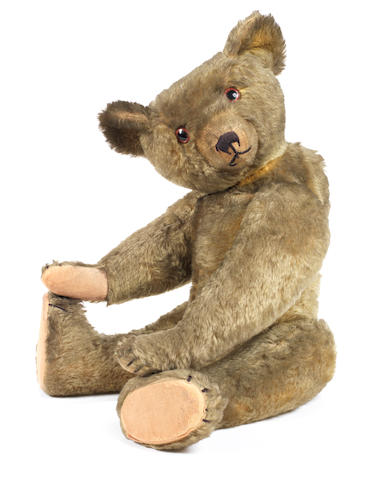 An Early English Teddy Bear, probably William J. Terry circa 1915