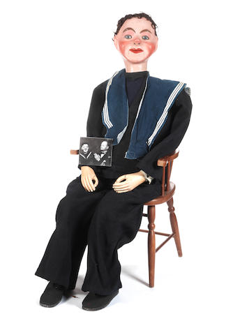 Ventriloquist doll by Quisto, circa 1925