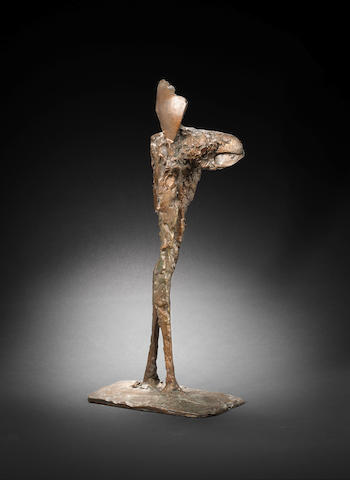 Dame Elisabeth Frink R.A. (British, 1930-1993) New Bird I 54 cm. (21 1/4 in.) high