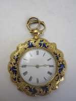 A lady's early 20th century fob watch, Swiss
