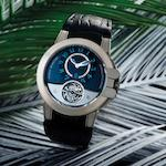 Harry Winston. A very fine and very rare limited edition zalium automatic tourbillon wristwatch with 110 hour power reserve Project Z3 Sport Tourbillon, Ref:400-MAT44Z, Limited Edition No.19/50, Circa 2009