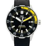 IWC. A fine stainless steel automatic diver's wristwatch Aquatimer Automatic 2000, Ref:IW356802, Case No.3479596, Circa 2009