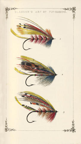 BLACKER (WILLIAM) Art of Flymaking, &c., Comprising Angling & Dyeing of Colours... With Descriptions of Flies for the Season of the Year... Rewritten and Revised by the Author, 1855