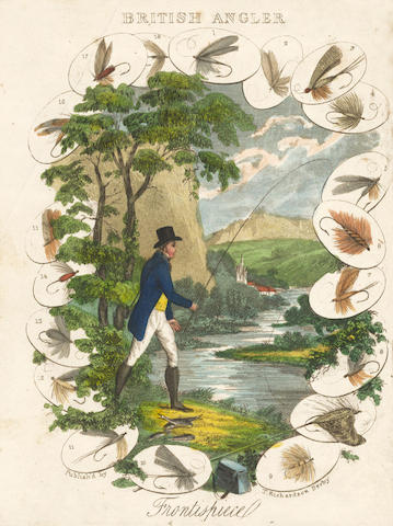 HUISH (ROBERT) The Improved British Angler, Containing the Most Esteemed Methods of Angling for Pond and River Fish, FIRST EDITION, 1838