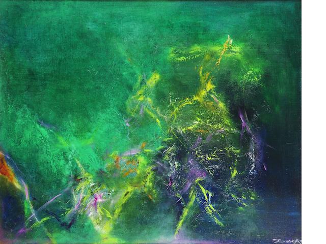 Zao Wou-Ki (born 1921)