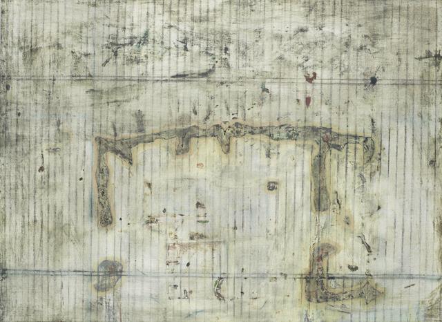 Prunella Clough (British, 1919-1999) Grid 4 48.5 x 64.8 cm. (19 x 25 1/2 in.)