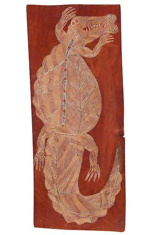 Peter Marralwanga (1917-1987) Saltwater Crocodile