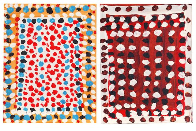Prince of Wales (Midpul) (circa 1937-2002) Untitled; Untitled 46 x 35.5cm each