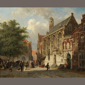 Cornelis Springer (Dutch, 1817-1891)