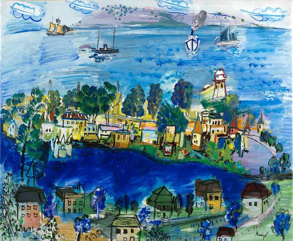 Carlos Nadal (1917-1998) Mar Azul