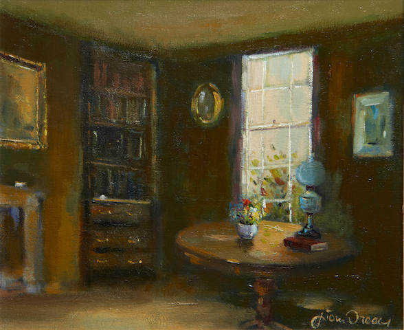 Liam Treacy (Irish, 1934-2004) Interior scene