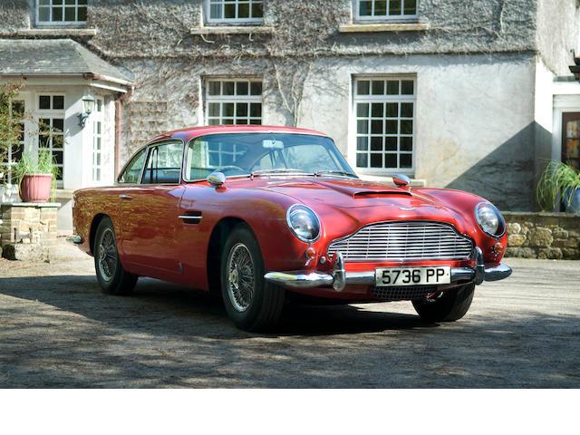 Aston Martin  DB5  Chassis no. DB5/1629/R Engine no. 400/1622
