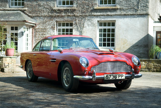 Aston Martin  DB5  Chassis no. DB5/1629/R Engine no. 400/1622