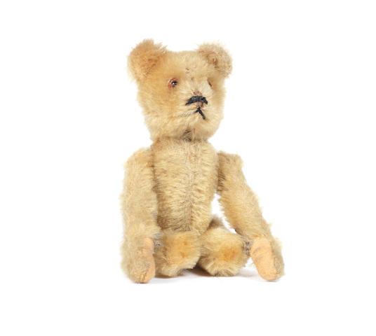 Miniature Schuco tumbling Teddy bear, 1920's