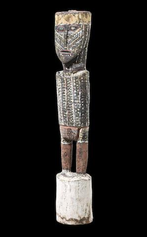 Attributed to Aurangnamirri Wommatakimmi (circa 1920-1973) Untitled (Tapara the Moon Man)