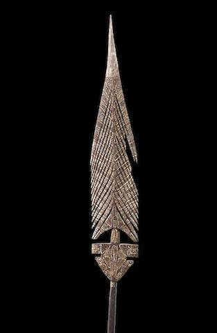 Artist Unknown Two Ceremonial Spears, Bathurst or Melville Islands