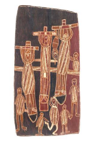 Manuwa (1917-1979) Untitled (Missionary Dreaming)