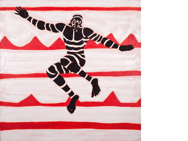 Owusu-Ankomah (Ghanaian, born 1956) 'Jumping Jack'