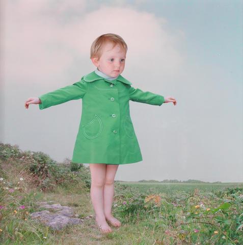 Loretta Lux (German, born 1969) Spring, 2001 Paper 30 x 30cm (11 13/16 x 11 13/16in), image 22.8 x 22.8cm (9 x 9in).