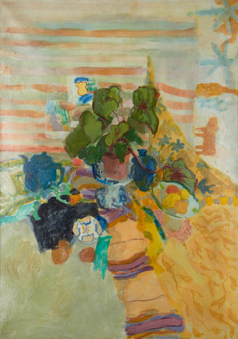Geraldine Girvan (British, born 1947) 'Still life'