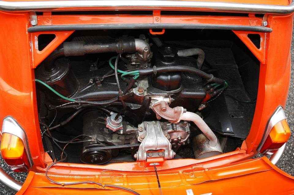 1963  FIAT  500D Jolly Beach Car  Chassis no. MOD 563126