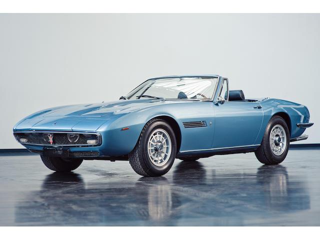 1969/70 Maserati Ghibli 4.7 Spider