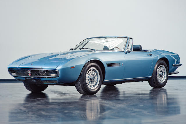 Delivered new to France,1969  Maserati  Ghibli Spyder  Chassis no. AM115/S 1017