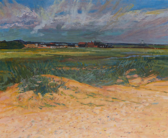 William Bowyer (British, born 1926) Over the dunes