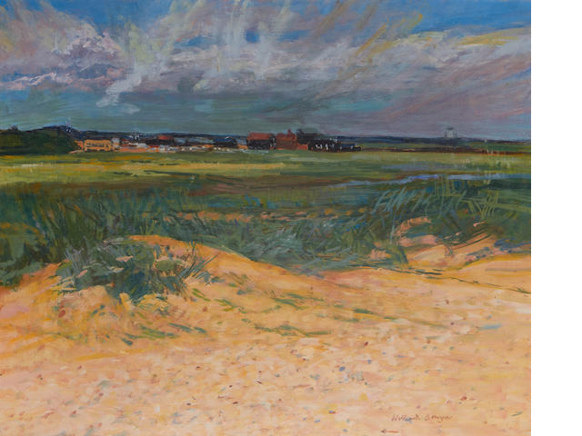 William Bowyer (British, born 1926) Over the dunes